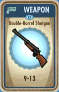 FoS Double-Barrel Shotgun Card