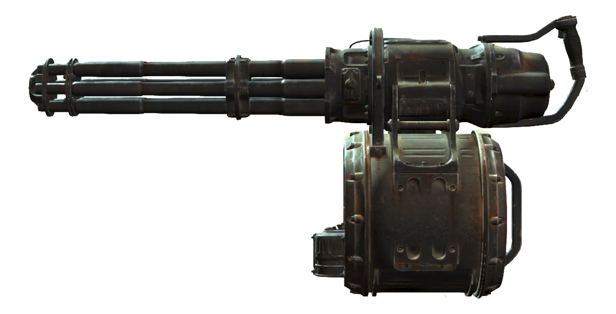 Where To Find Your First Minigun In Fallout 4