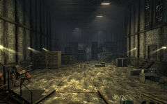 FNV abandoned warehouse interior