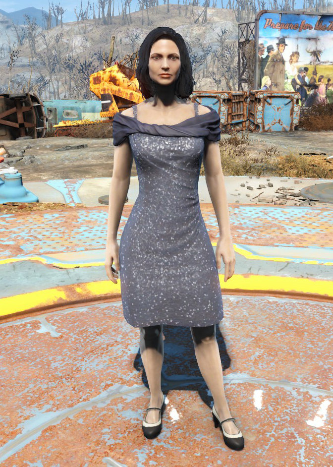 Red dress fallout 4 yao