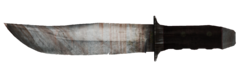 LR Bowie knife unused