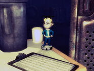 RCsl Intelligence bobblehead
