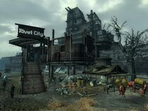 Fallout3 BrokenSteel RivetCity WaterCaravanStop01 ThX