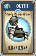FoS Sturdy Raider Armor Card
