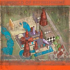 NW Park Map Nuka-Cola bottling plant