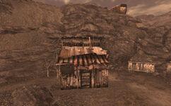 Cottonwood Cove shack