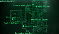 Dunwich Building Lobby map