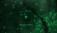 Fo3 Megaton Ruins map