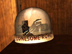 Snow globe - Lonesome Road