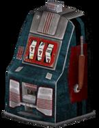 FNV blue slotmachine
