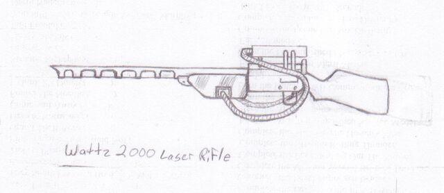 File:Wattz 2000 Laser Rifle (Fallout and Fallout 2).jpg