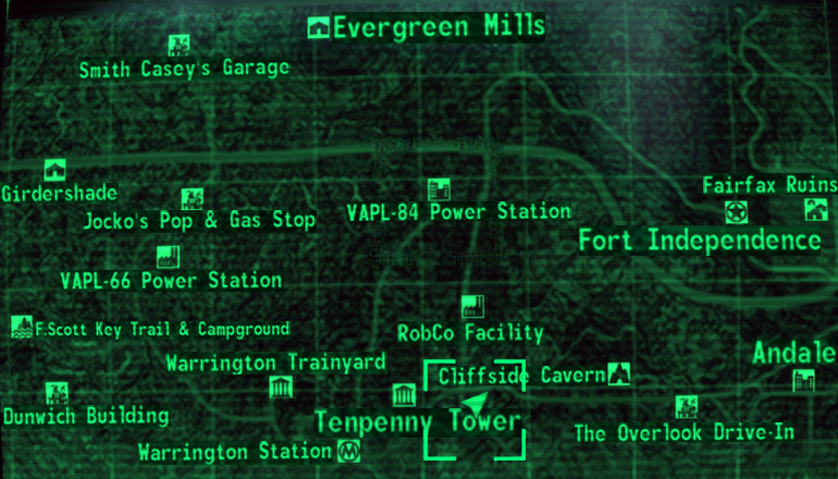 Image - Old Olney Underground map.jpg | Fallout Wiki | FANDOM ...