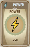 FoS Power Card