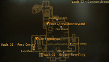 Vault 22 common areas map