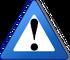 Warning blue