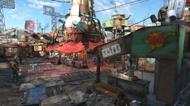 File:Diamond City Halloween style FO4.png