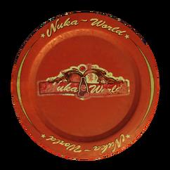 FO4NW Souvenir plate