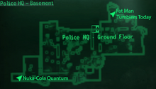 Germantown PHQ basement map