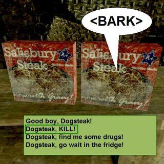 Dogsteak