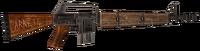 Survivalist's rifle