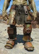 Supermutant leg armor