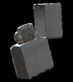 Unused flip lighter