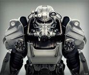 Art of Fo4 T-60 power armor CA