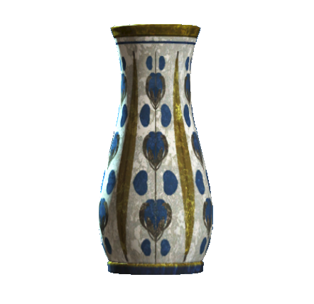File:Empty floral flared vase.png