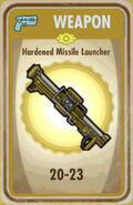 FoS Hardened Missile Launcher Card