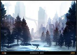 V13 Snow City
