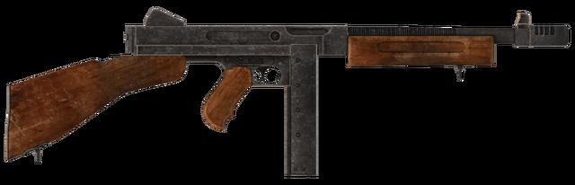 File:.45 Auto submachine gun with the compensator modification.png