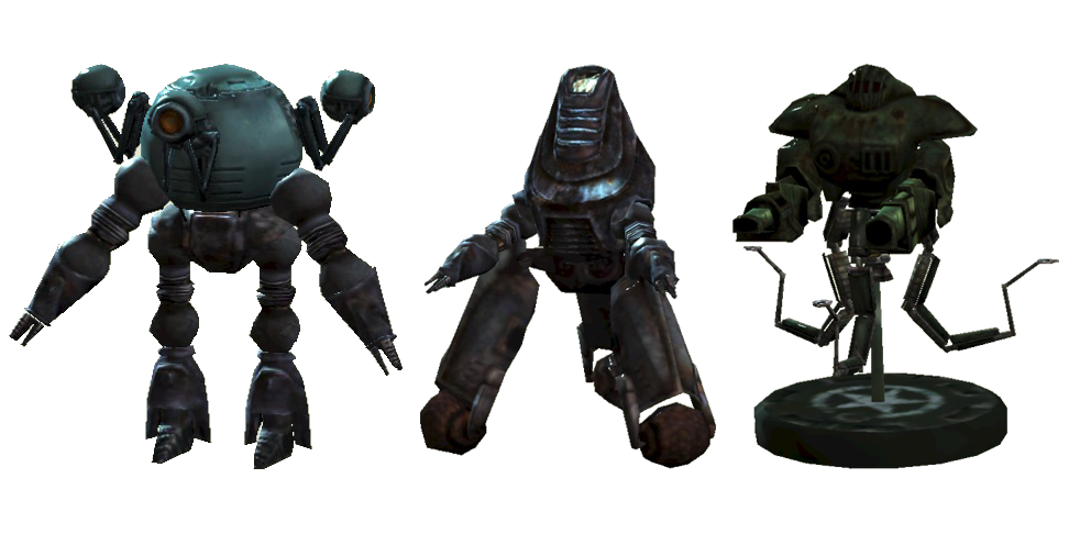 Robots You Can Build In Fallout