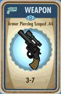 FoS Armor Piercing Scoped .44 Card