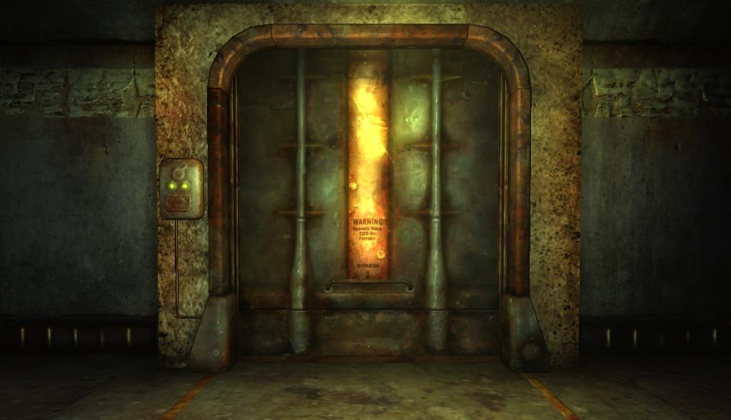 Vault Door Fallout Wiki Fandom Powered By Wikia