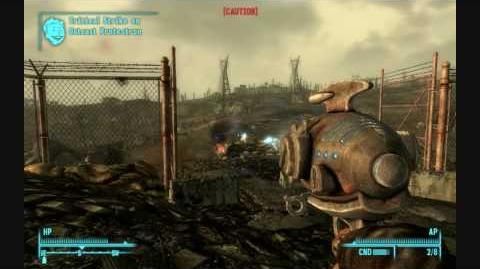 Fallout 3 Unique Weapons - Firelance (unique Alien Blaster)