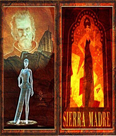 File:Saint Pain's Victor gift Sierra Madre book ends.jpg