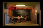 Falloutshelter lounge 1room lvl1