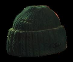 Wool fisherman's cap