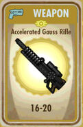 FoS Accelerated Gauss Rifle Card