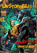 Unstoppables - commie-kazi vs manta man