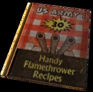 US Army 30 Handy Flamethrower Recipes