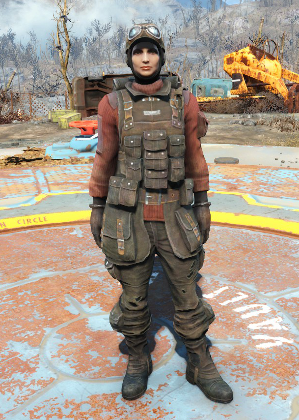 Field scribe's armor | Fallout Wiki | FANDOM powered by Wikia