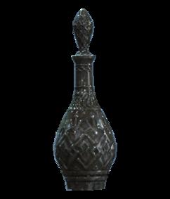 Crystal liquor decanter