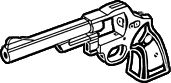 File:.44 magnum revolver heavy frame icon.png