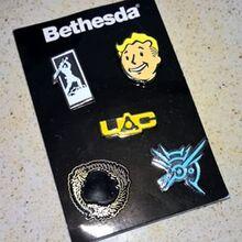 Promo pins