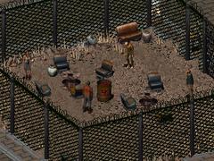 VC courtyard prisoners