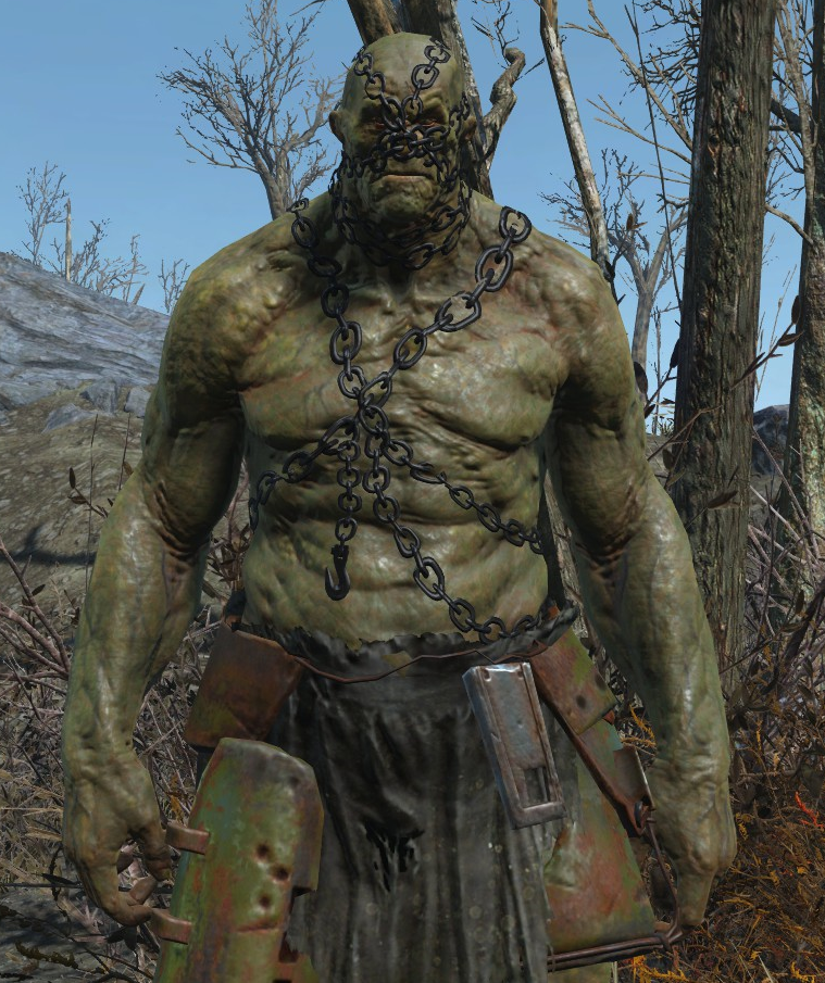 Super mutants look way more... deformed human in Fallout 4 : Fallout