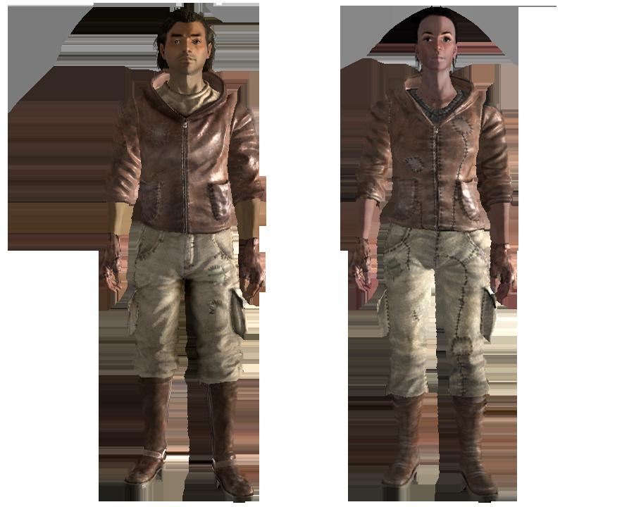 Fallout 4 nuka world одежда