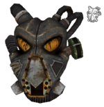 Remnants power helmet