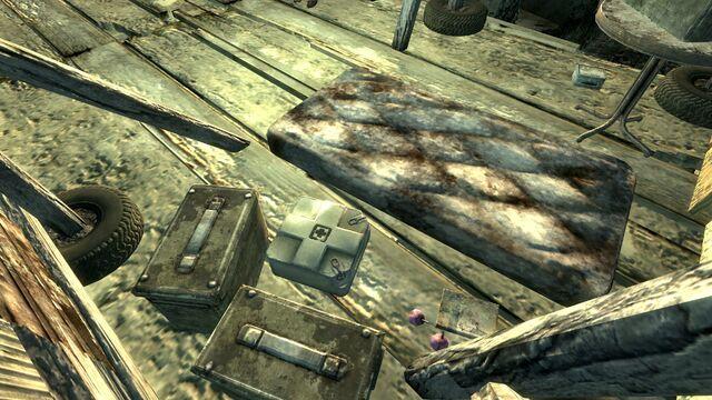 File:FO3 TT Flooded Metro Raider Camp.jpg